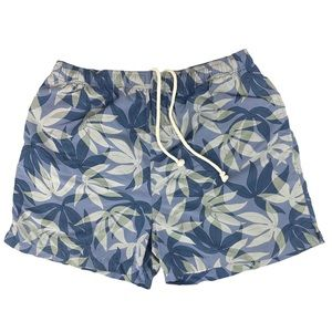 Tommy Bahama Blue Swim Trunks Size Large Men's